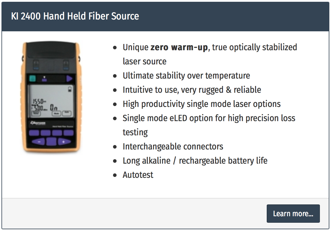sursa lumina fibra optica