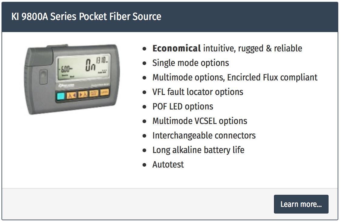 light source fiber optical