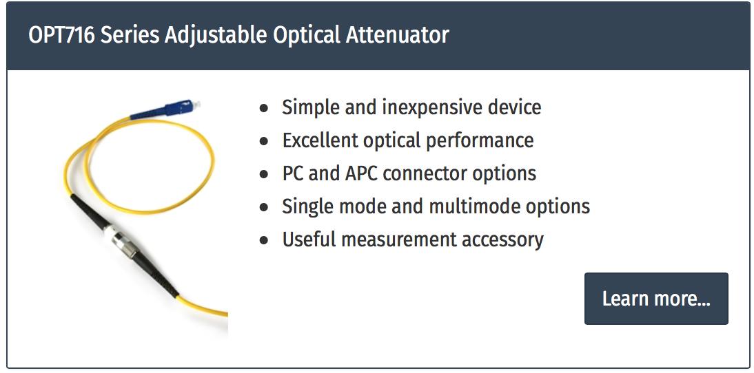 atenuator de fibra optica