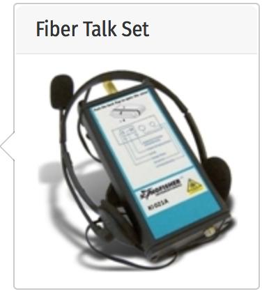 test comunicatie pe fibra optica